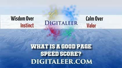 What Is A Good Page Speed Score