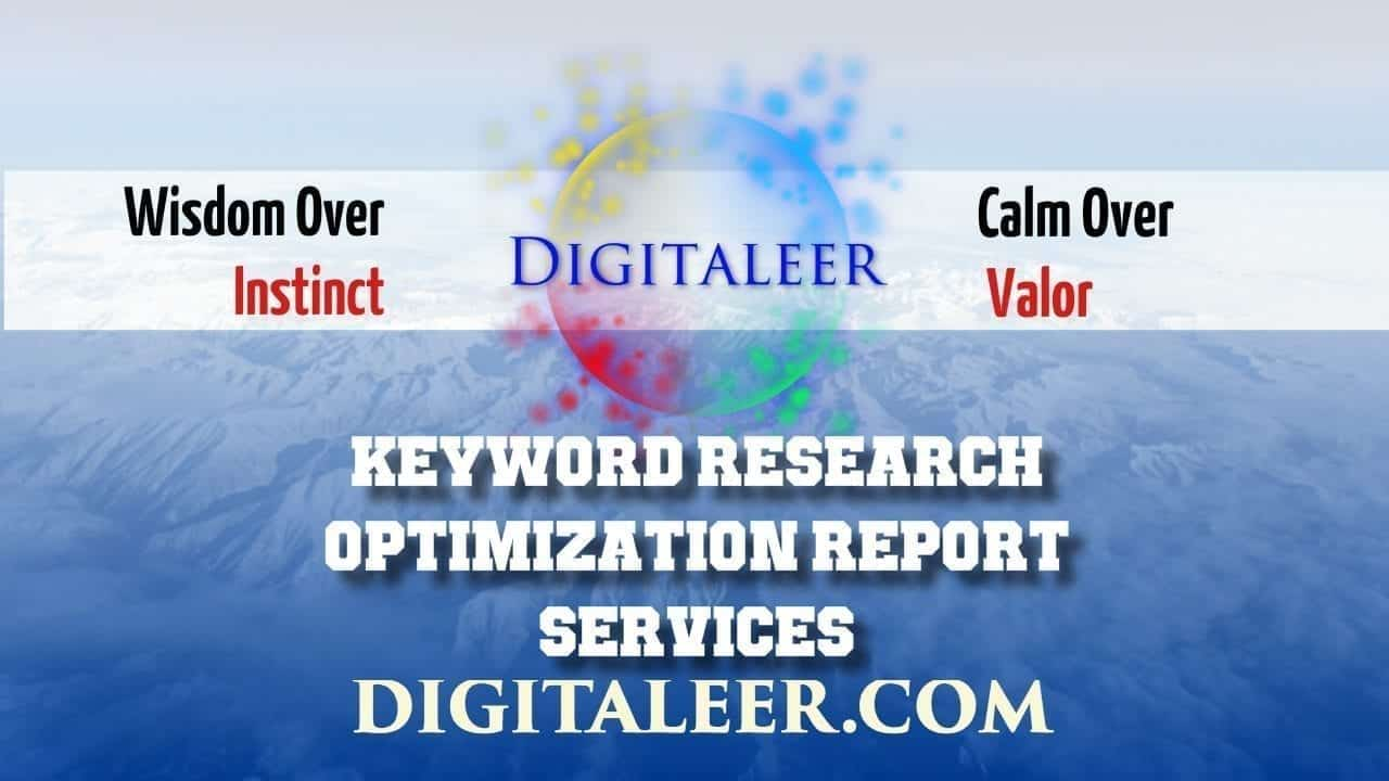 KeyWord Research Optimization Report Services